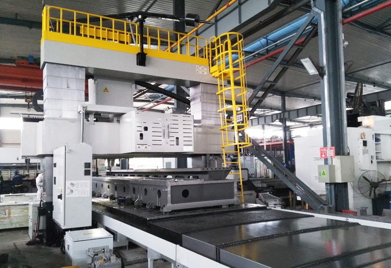 PRATIC Machine Bed, Machine Head and Column Processing