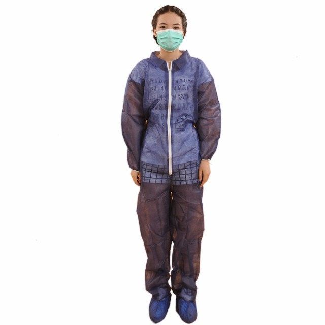 Disposable Coveralls With Collar Manufacturers, Disposable Coveralls With Collar Factory, Supply Disposable Coveralls With Collar