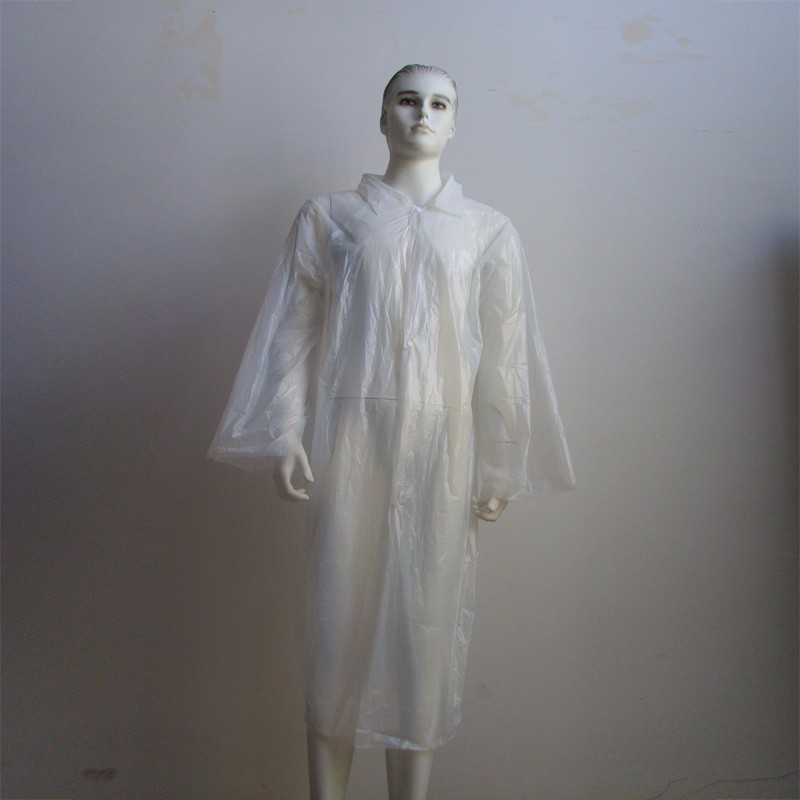 Disposable PE Visit Coat Manufacturers, Disposable PE Visit Coat Factory, Supply Disposable PE Visit Coat