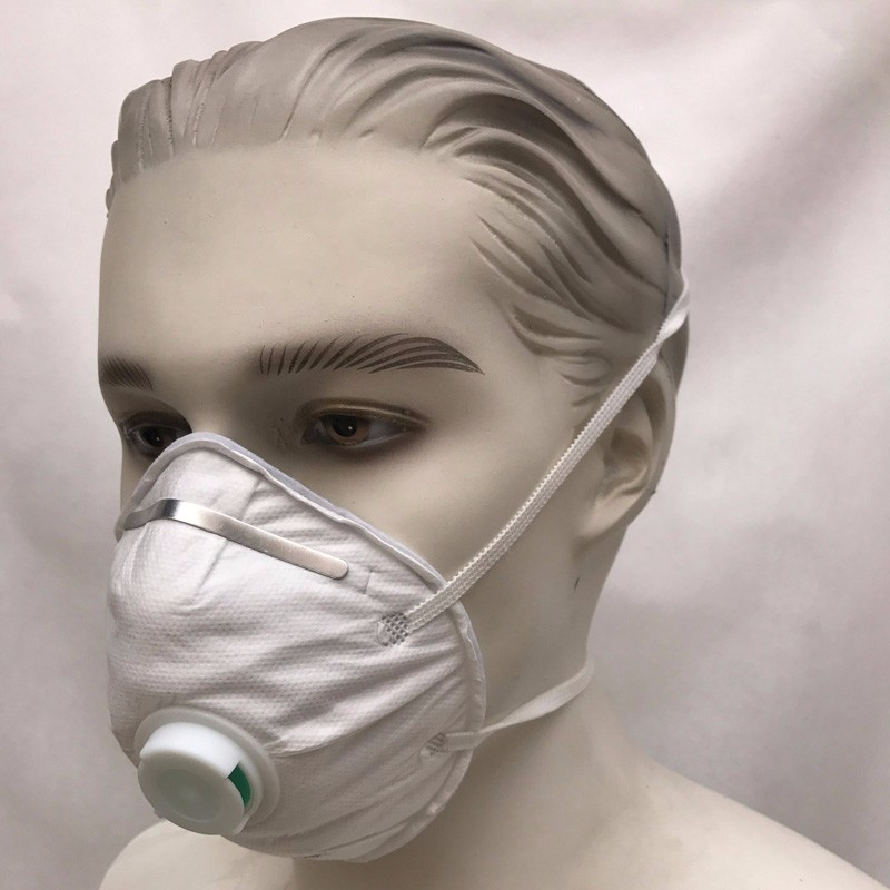 Disposable N95 Mask With Breather Valve