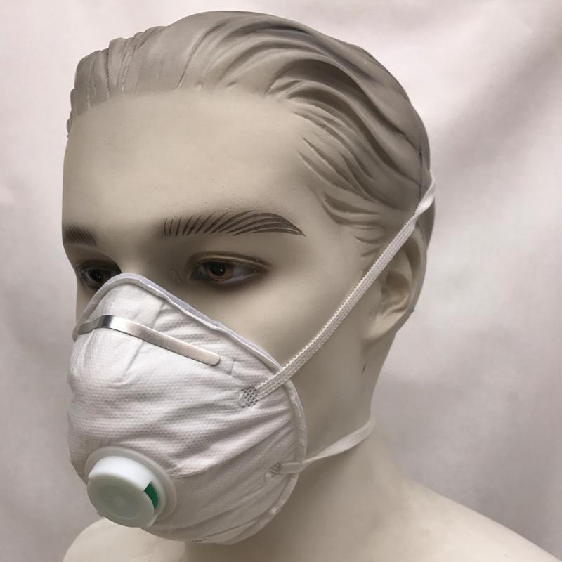 Maschera monouso N95 con valvola di sfiato