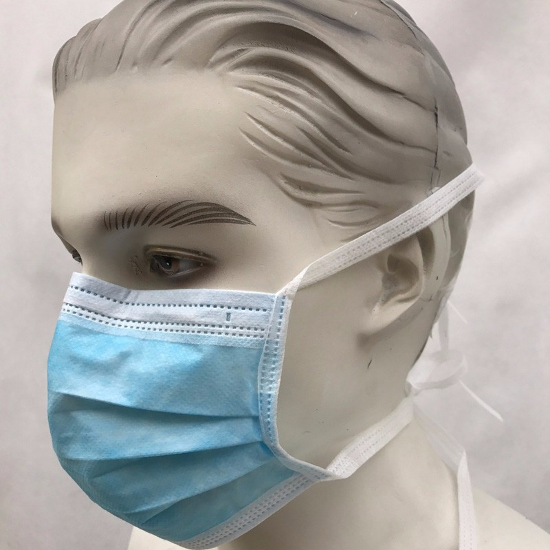 Disposable Face Mask With Ties
