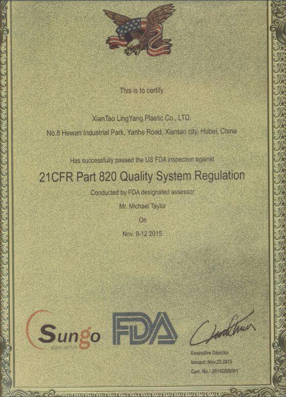 Inspección de la FDA