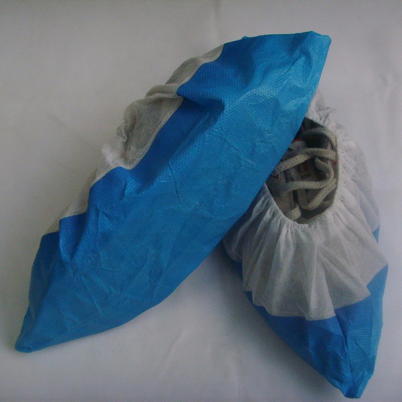 Disposable PP+CPE Shoe Covers