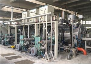 Multi chamber Continuous Vacuum Aging Furnace