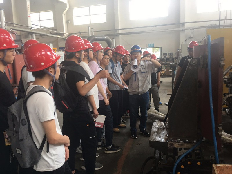 Students of Northeastern University (NEU) visited and studied in Hengjin