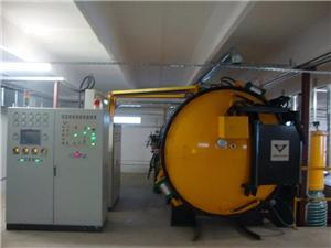 High vacuum brazing furnace exported to Romania