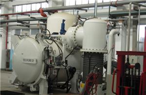 Vacuum sintering pyrolysis furnace