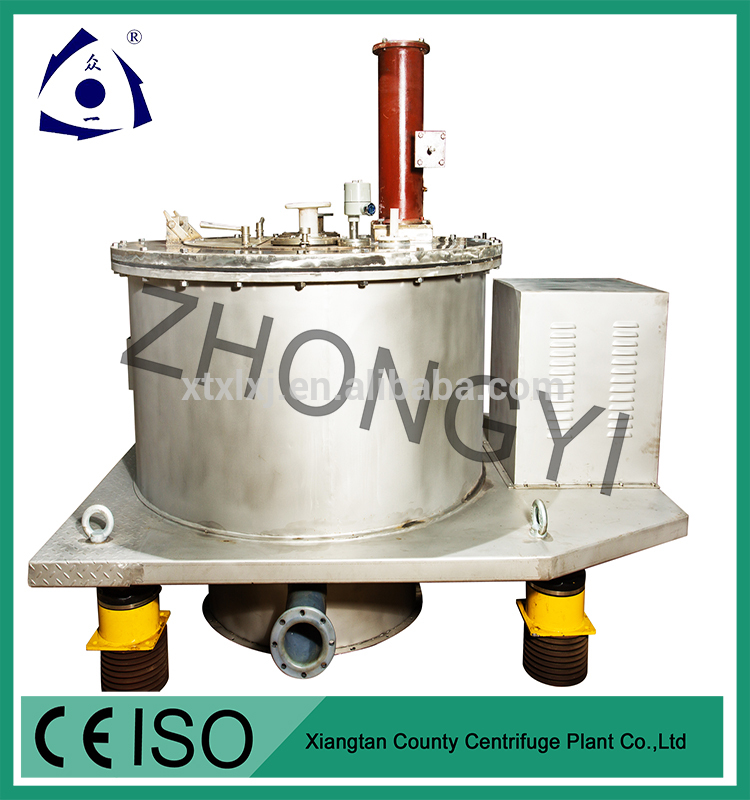 Automatic Batch Operation Bottom Discharge Basket Centrifuge