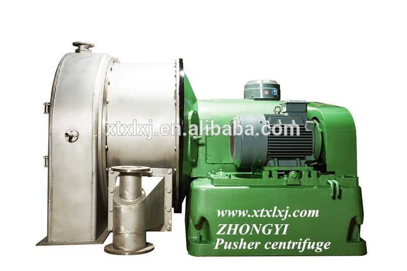 Pusher Centrifuge For Chemical Industry