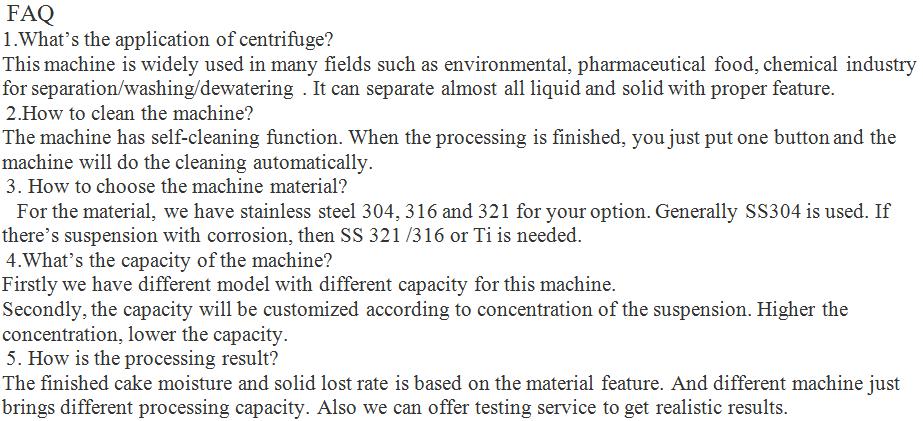 Industrial Centrifug