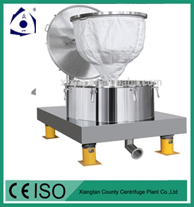Bag Lifting Type Four Point Centrifuge