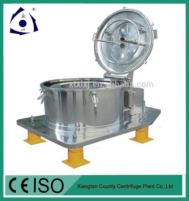 Deshidratación Centrífuga de lavado de verduras
