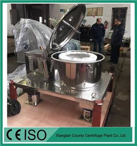 Flat Plate Centrifuge for Ethanol extraction CBD oil