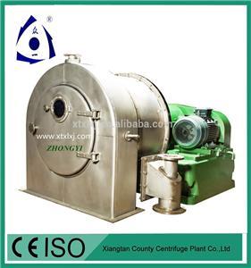 Pusher Centrifug för kemisk industri