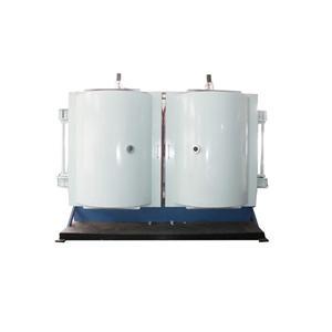 Plastic Tableware Vacuum Sputtering Silvering Machine
