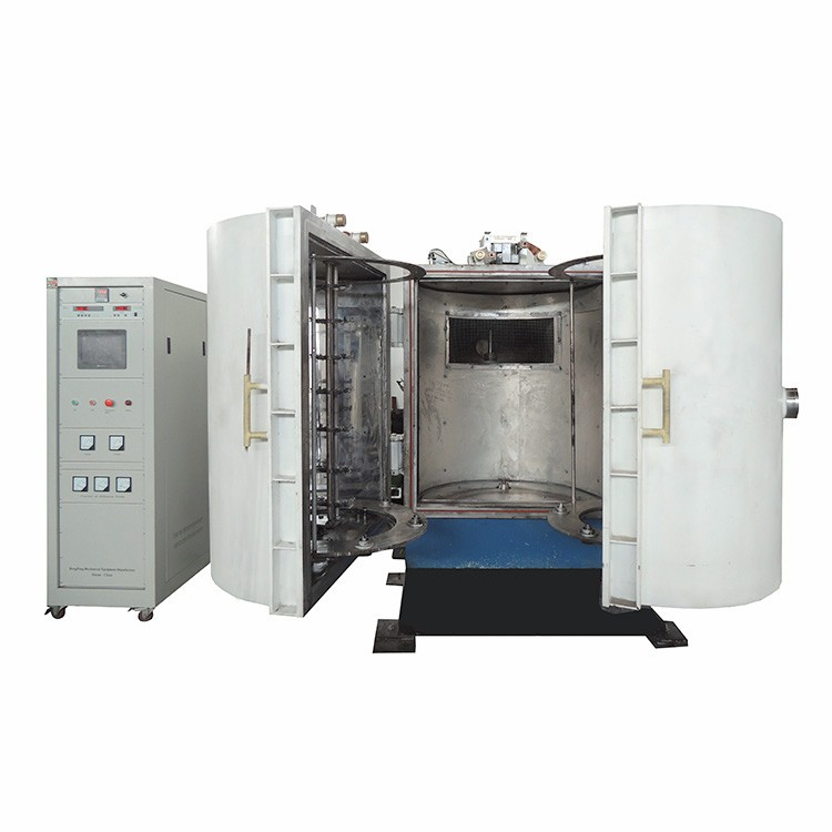 Vertical Double Doors Vacuum Metallizing Coating Machine