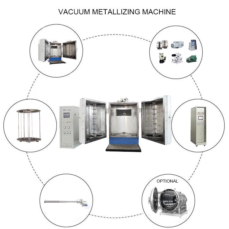 vacuum chrome plating machine