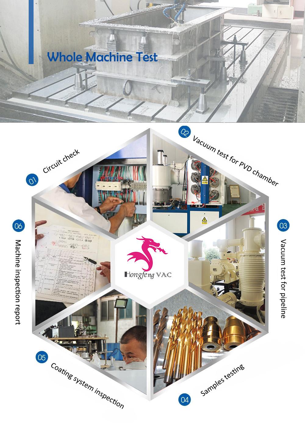 PVD metal coating