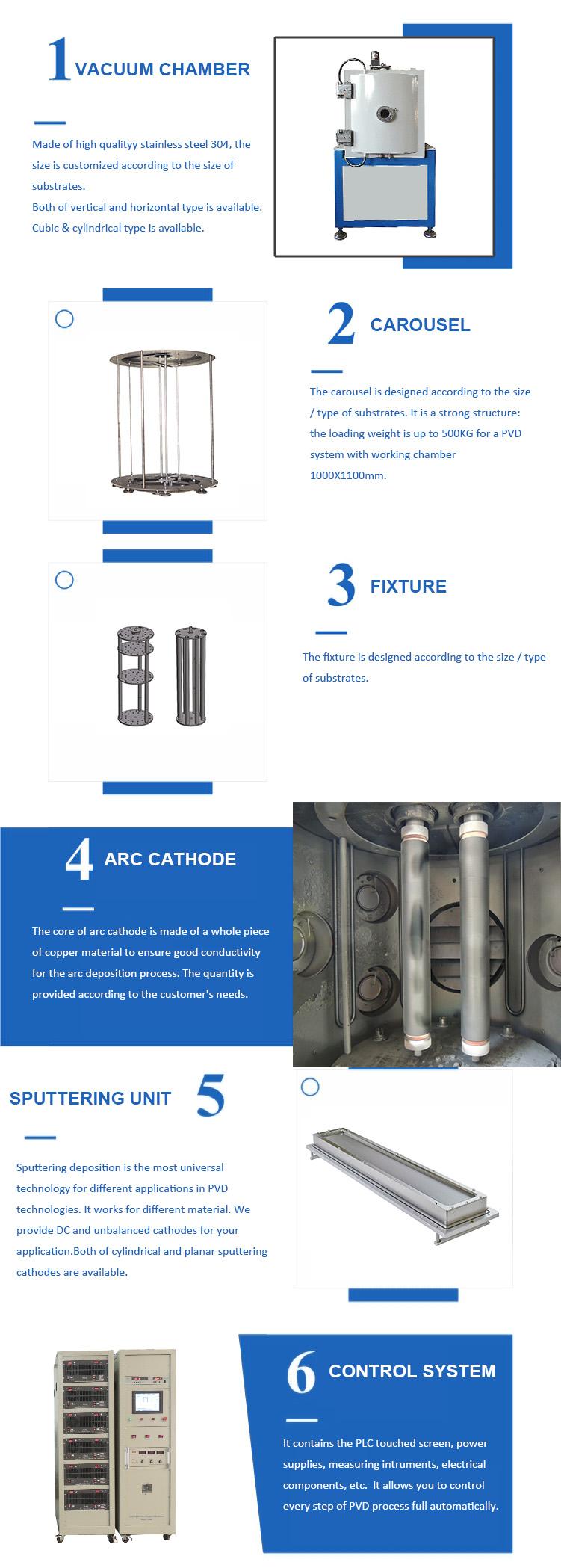 vacuum metal coating machine