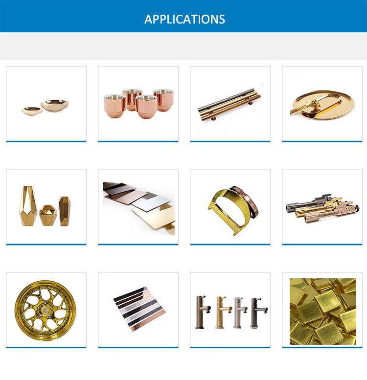gold coating machine