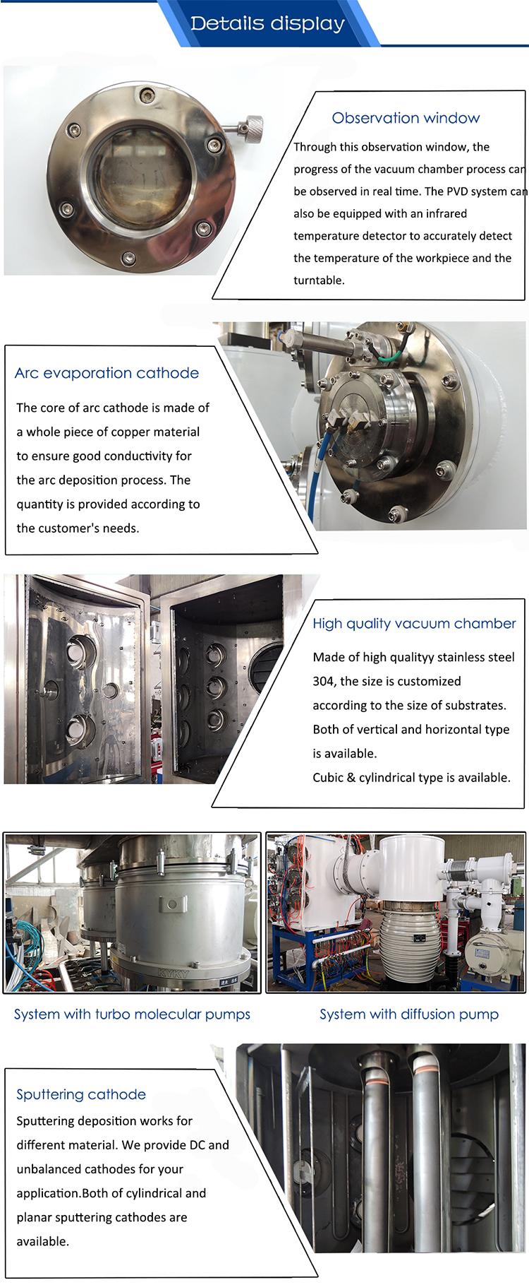 horizontal PVD coating
