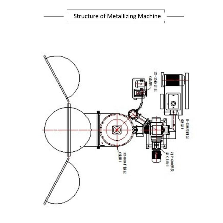 vacuum chrome coating machine