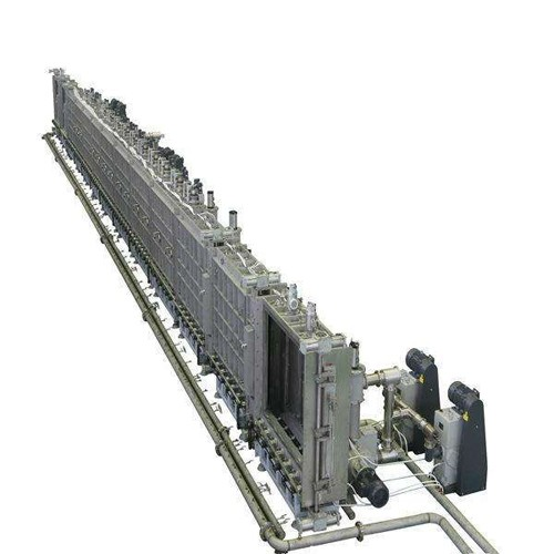 Continuous ITO Glass Sputtering Line