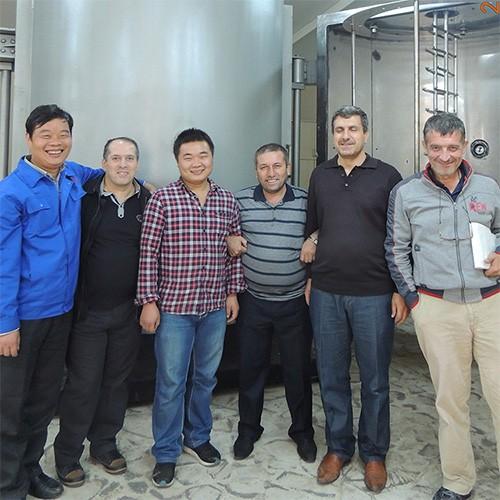 Ecuador customer project