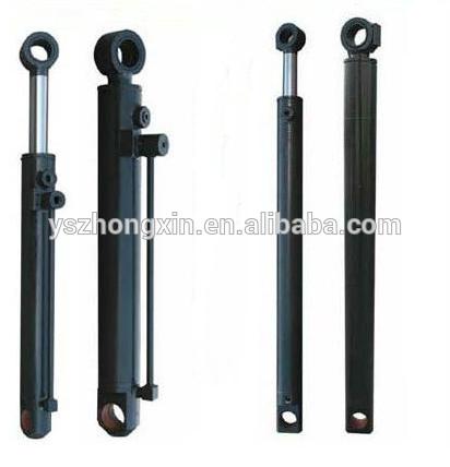 Dubbelverkande liten borrad hydraulisk cylinder som används för sopbil / dumper