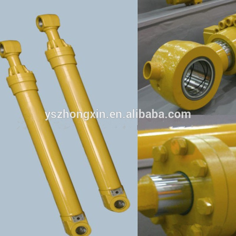 Telescopic Hydraulic Concrete Pump Cylinder for Dump Truck