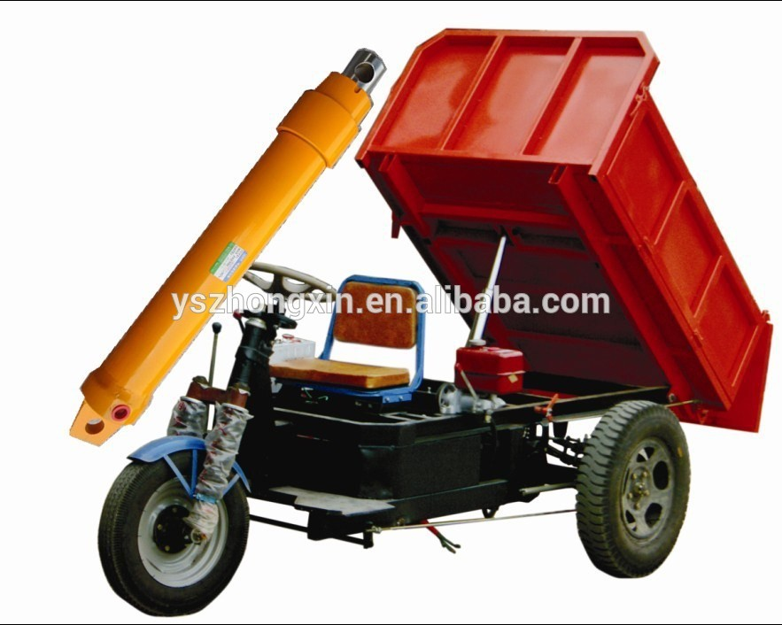 Dump Truck Telescoping Double Acting Hydraulic Cylinder for Trailer Agricultural Tractor