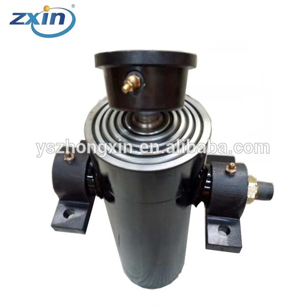 Teleskopisk hydraulcylinder för dumper / släpvagn 4 ton / 6 ton / 8 ton / 10 ton