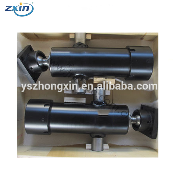 Telescopic Plunger 2 / 3 Stage Dump Truck Tipper Lift Single Acting Hydraulic Cylinder
