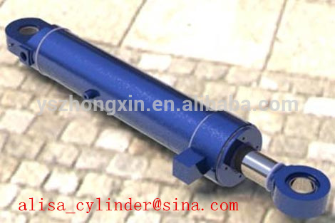 (20 year manufacturer) long stroke Tie Rod Hydraulic Cylinder / bore 2.0