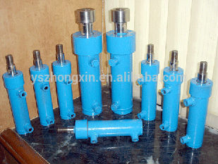 Plunger Type Cylinder For Agricultural Machinery, different types hydraulic cylinders, hydraulic cylinder for hot press machine