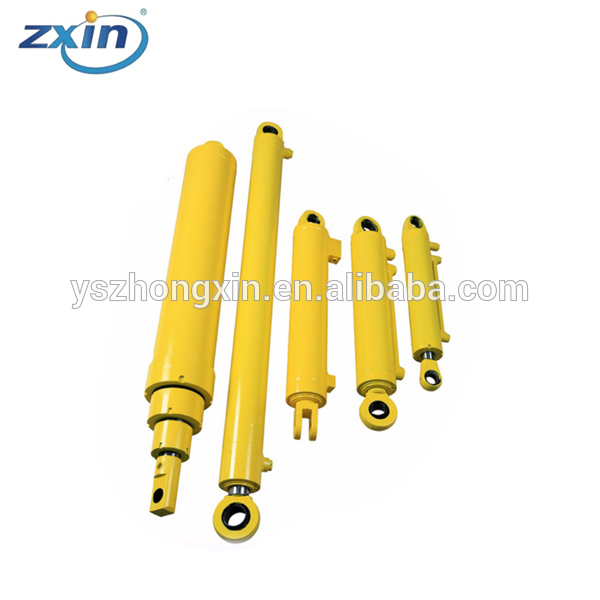 Double-Acting Piston Rod Hydraulic Oil Cylinder Telescopic Price