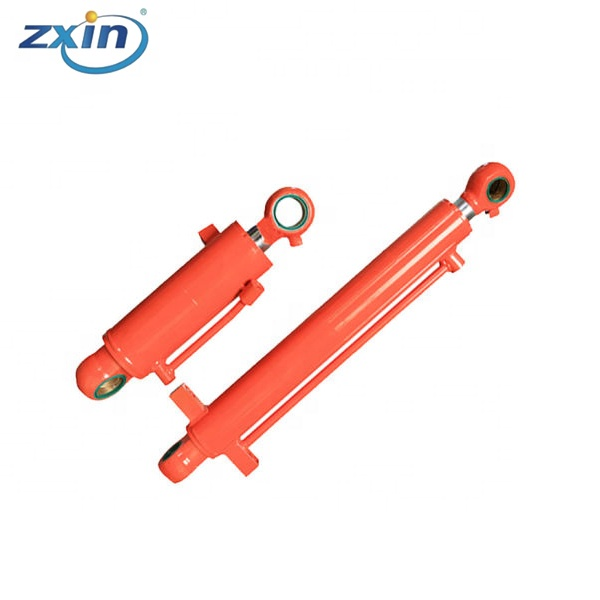 Double Acting Telsecopic Hydraulic Cylinder For 19 Cubic Meter Compactor