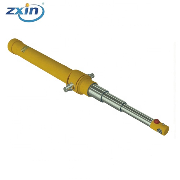 3 Stages Single Acting Inverted Telescopic Cylinders