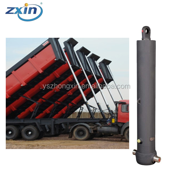 1000Kg Load Capacity Dump Trailer Used Hydraulic Cylinder,100 Tons Cylinder