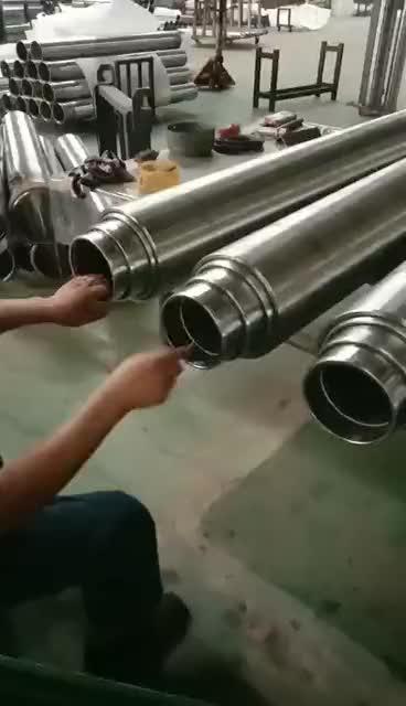 7 tonnás teleszkópos hidraulikus henger 2500 PSI 3,74 hüvelykes furatú 60 hüvelykes löket