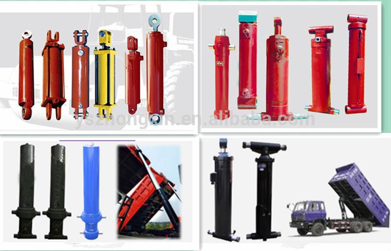 (20 year manufacturer) 3-stage hydraulic jack dump truck hoist cylinders,dump truck lift hydraulic cylinder
