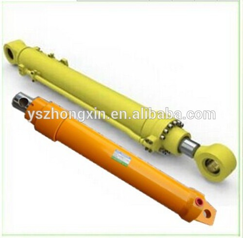 Single Acting Piston Telescopic Hydraulic Cylinder for Crane Made in China