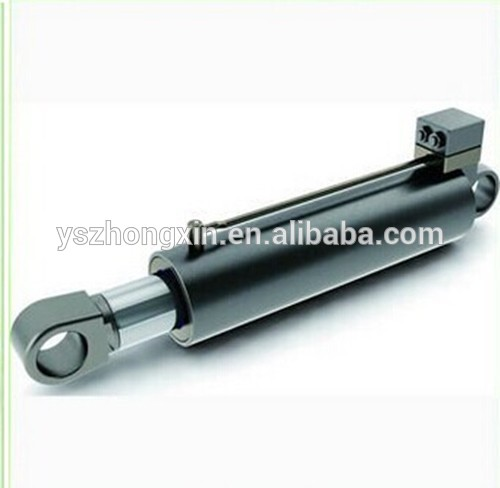 Stainless steel Mini Telescopic Cheap Hydraulic Pneumatic Cylinders Dump Truck Tailer