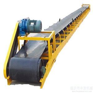 Flour Feed Bagged Material Horizontal Belt Conveyor