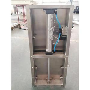 Bulk Material Pneumatic Slide Gate Diverter Valves