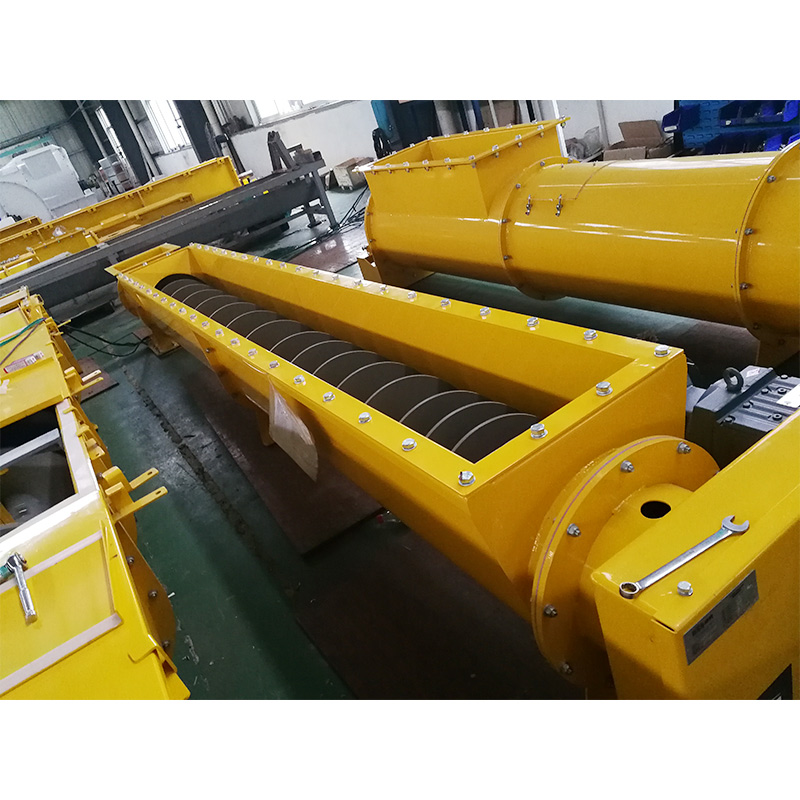wastewater treatment screw conveyor