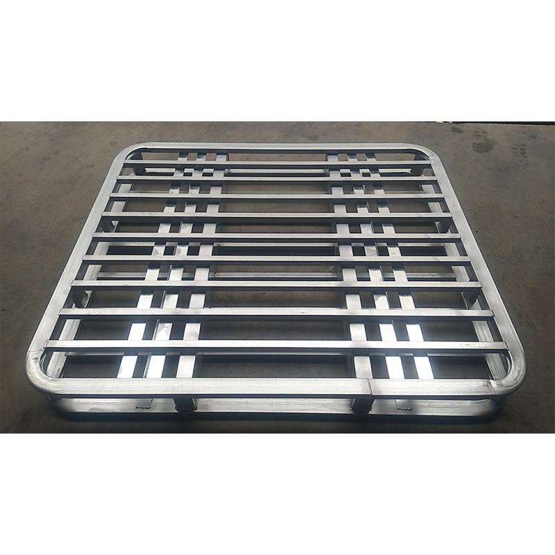 Пластиковый поддон для хранения из стали, металлический поддон для вилочного погрузчика