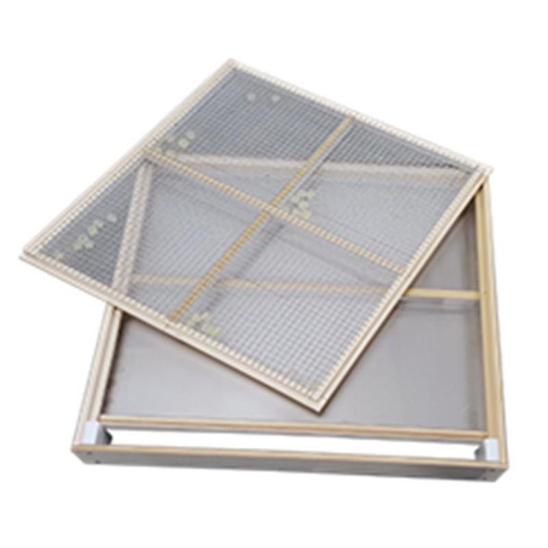 Wood Aluminum Steel Sieve Cover Tray Sieve Frames