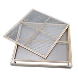 Wood Aluminum Steel Sieve Cover Tray Sieve Frames